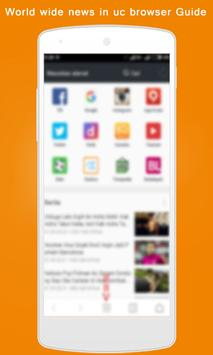 New UC Browser 2017 Guide apk screenshot