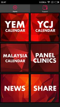 YEM Calendar screenshot 1