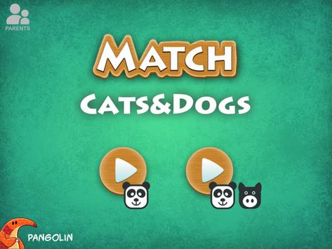 Match Game - Dogs & Cats poster