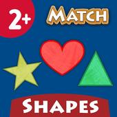 Baby Match Game - Shapes icon