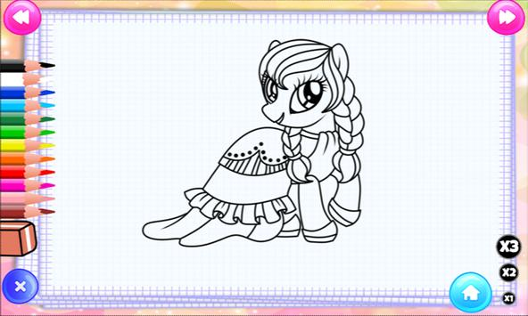 Unicorns Coloring Book screenshot 9