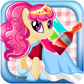 Coloring Pony Games icon