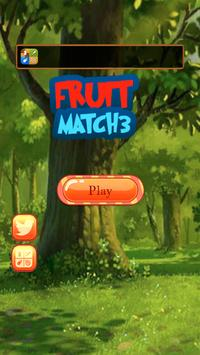 Fruit Match 3 poster