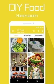 DIY Food apk screenshot