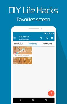DIY Life hacks apk screenshot