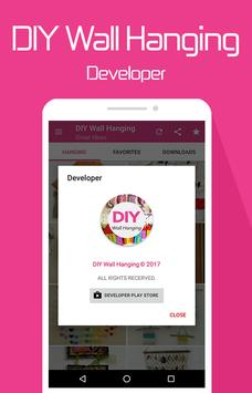 DIY Wall hanging apk screenshot