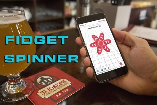 Fidget Spinner (x2) apk screenshot
