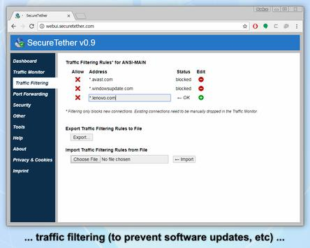 SecureTether - Secure no root Bluetooth tethering screenshot 6