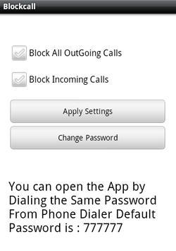 Simply Block Call Lite screenshot 1