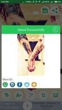 Tattoo Editor For Men apk screenshot