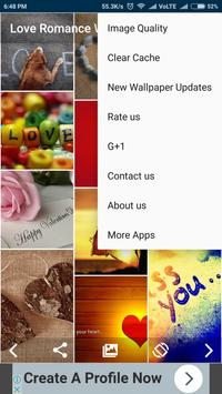 Love Romance Wallpaper apk screenshot