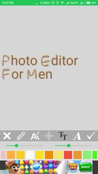 Photo Editor For Men & Boy apk screenshot