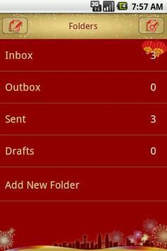 Easy SMS Springfestival Theme screenshot 2