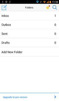 Flat White Message OS 8 Theme apk screenshot