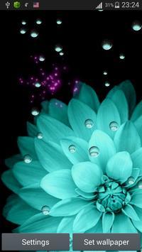 Flower Live Wallpaper apk screenshot