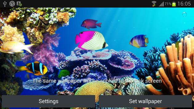 Under Water Live Wallpaper Apk Screenshot