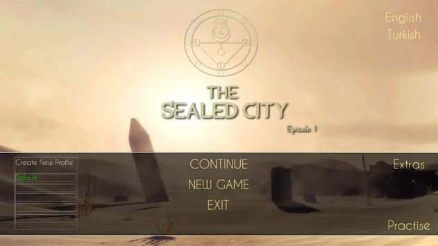The Sealed City Episode 1 poster