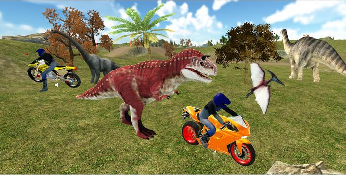 Jurassic Dinosaur Bike Racing apk screenshot