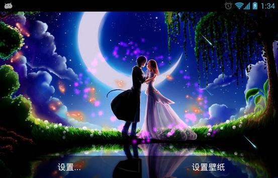 Moon Love Live Wallpaper APK Baixar - Gratis Personalizacao Aplicativo para Android APKPure.com