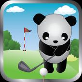 Panda Golfer icon