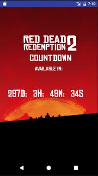 Countdown for Red Dead 2 apk screenshot