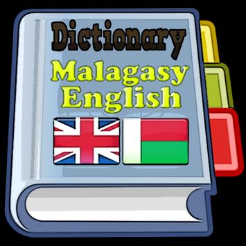 Malagasy English Dictionary poster