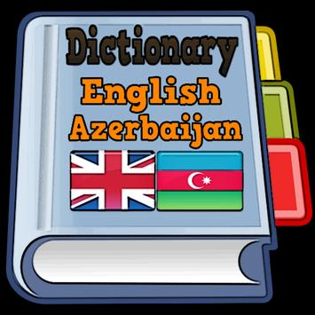 English Azerbaijan Dictionary poster