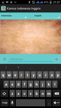 Dictionary English Indonesian apk screenshot