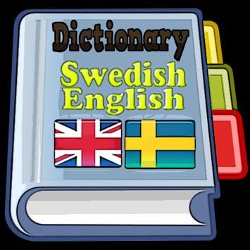 Swedish English Dictionary poster