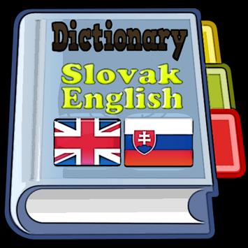 Slovak English Dictionary poster