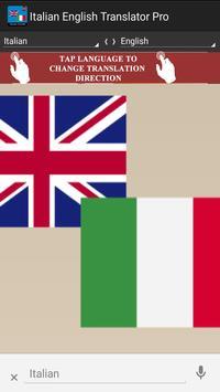 Italian English Translator Pro screenshot 8