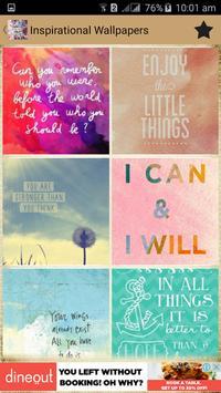 Inspirational Wallpaper Quotes screenshot 1