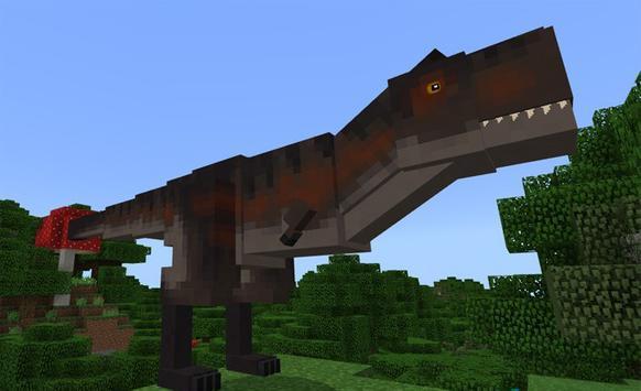 Jurassic Dino MOD for MCPE screenshot 1