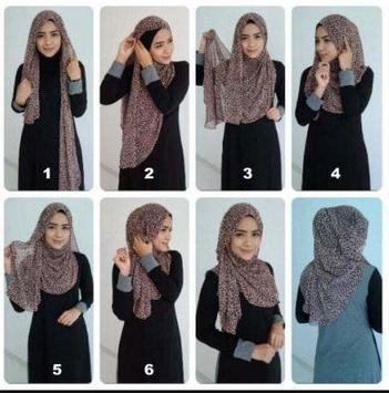 Pashmina Hijab Tutorials screenshot 4