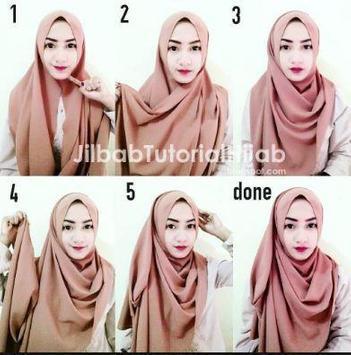 Pashmina Hijab Tutorials screenshot 2