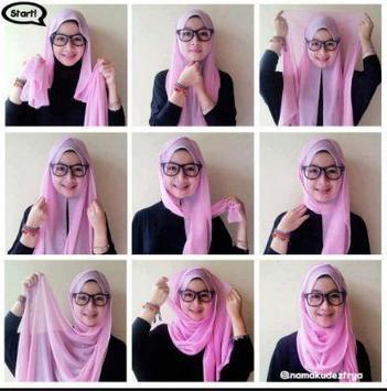 Pashmina Hijab Tutorials screenshot 3
