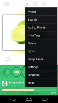 Poweramp: MediumSpringGreen screenshot 1