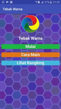 Tebak Warna poster