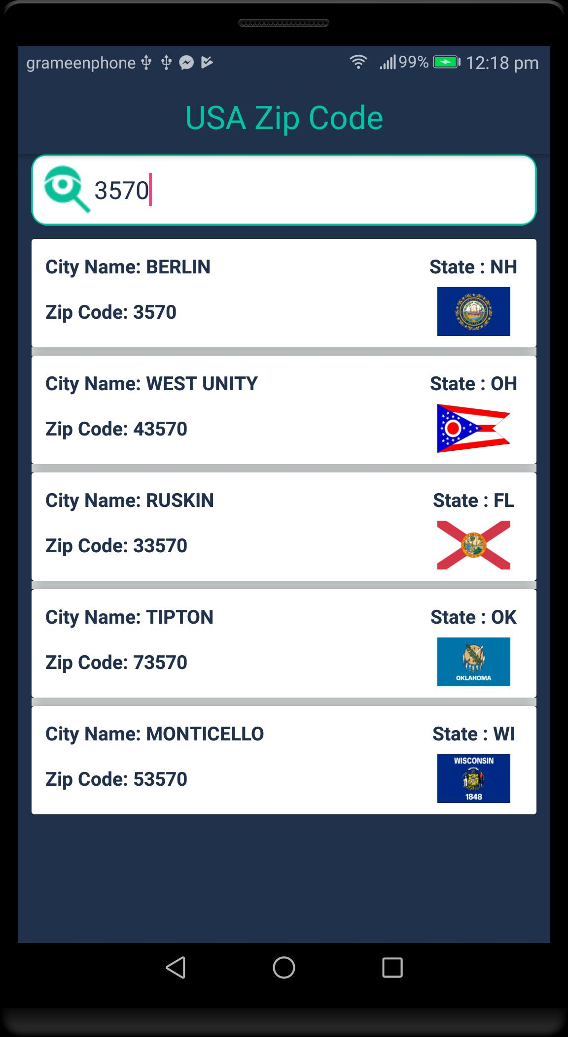 Find Usa Postal Zip Code For Android Apk Download