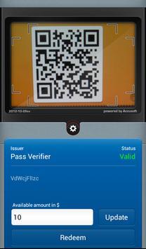 Pass Verifier for Passbook poster