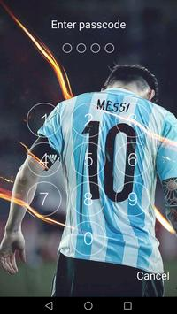 Keypad For Lionel Messi HD 2018 Screenshot 1