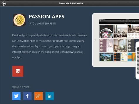 Passion-Apps apk screenshot