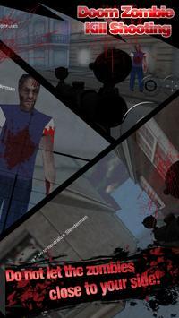 Doom Zombie Kill Shooting apk screenshot