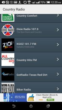 Top Country Radio Stations poster
