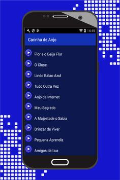 Carinha de Anjo Canciones apk screenshot