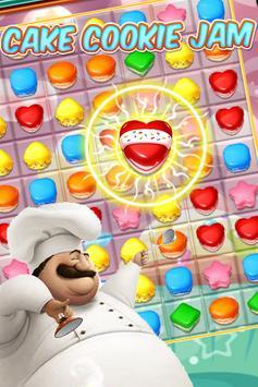 Cake Cookie jam poster