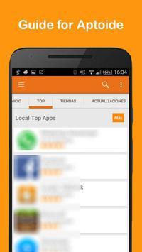 Guide For Aptoide 2017 apk screenshot