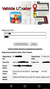 Vehicle Number Address Finder screenshot 8