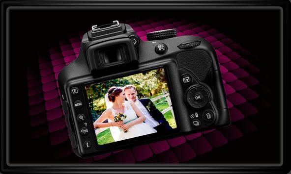 DSLR Camera Photo Frames poster