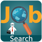 Search any kind of jobs icon